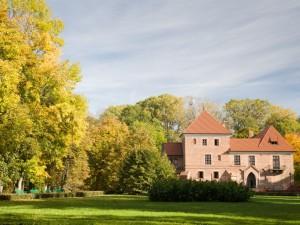 Postal: Elegante castillo en Polonia