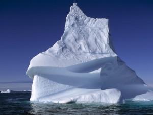 Postal: Un gran iceberg
