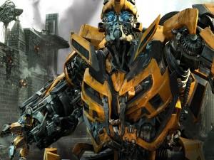 Postal: El transformers Bumblebee