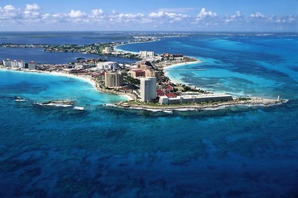 La hermosa ciudad de Cancún, México