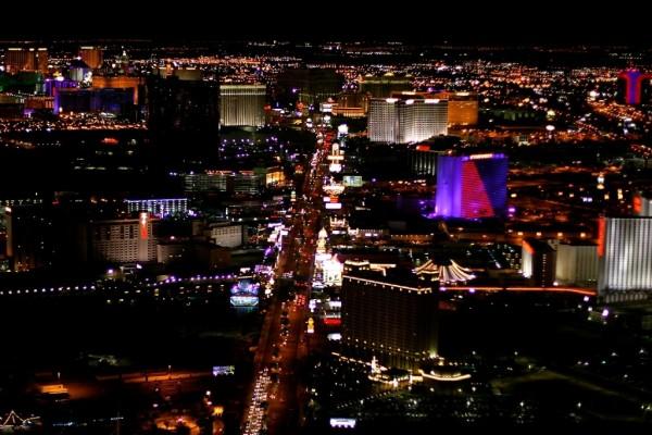 Una fantástica imagen de Las Vegas