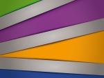 Coloridas formas geométricas
