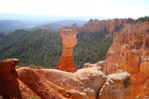 Formaciones rocosas en el Cañón Bryce (Utah)