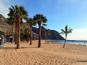 Postal: Playa de las Teresitas (Tenerife, Islas Canarias)