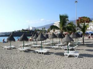 Postal: Playa de Torviscas, Costa de Adeje (Tenerife)