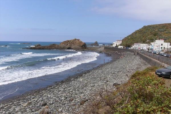 Playa del Roque de las Bodegas (Tenerife, España)
