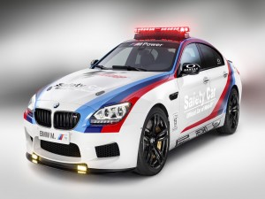 Coche BMW M. Safety Car Moto GP