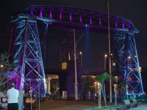 Puente Transbordador Nicolás Avellaneda, en el barrio de La Boca (Buenos Aires, Argentina)