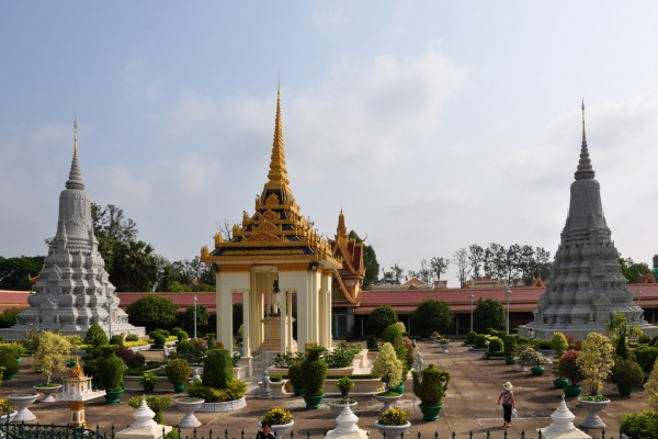 Palacio Real en Phnom Penh, Camboya