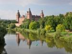 Magnífico castillo de Aschaffenburg en Alemania