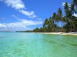 Postal: Espectacular playa