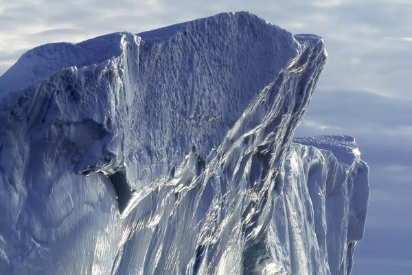 Zona superior de un iceberg