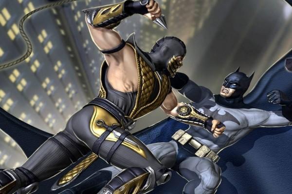 "Scorpion Vs Batman ""Injustice: Gods Among Us"""