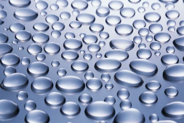 Perfectas gotas de agua
