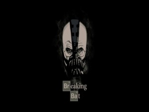 Postal: Breaking Bat (serie Breaking Bad)