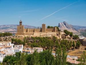 La Alcazaba de Antequera (Andalucía, España)