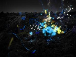 Postal: ¡Es Magia!