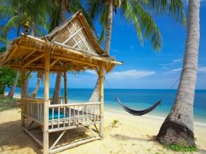 Postal: Una bonita playa ideal para relajarse