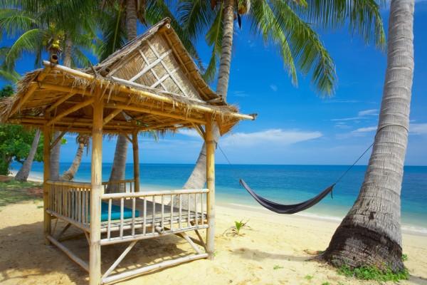 Una bonita playa ideal para relajarse