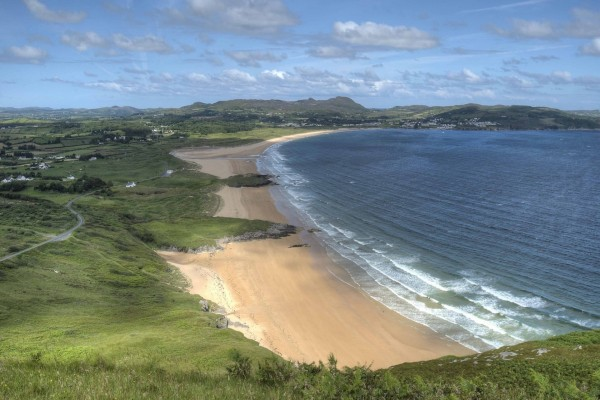 Bonita playa en Irlanda