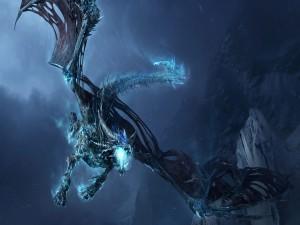 Gran dragón en la oscuridad