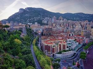 Vista de Montecarlo, Mónaco