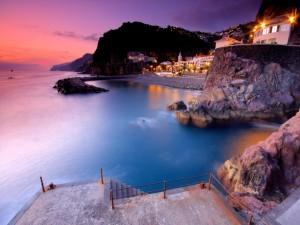 Un pueblo junto al mar