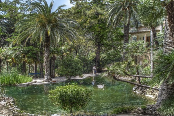 Jardines de Alfabia (Buñola, Mallorca)