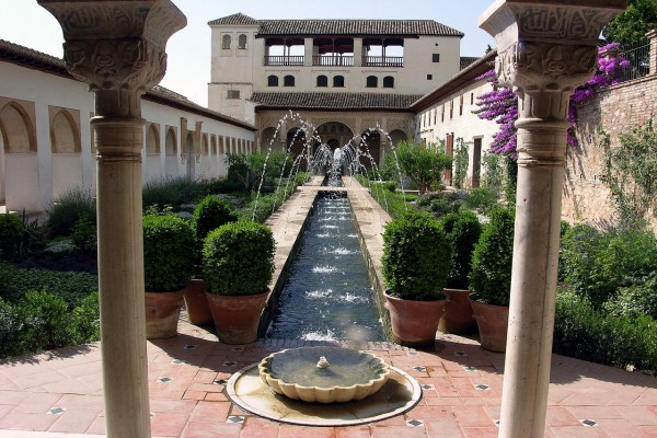 Jardín del Generalife, Granada