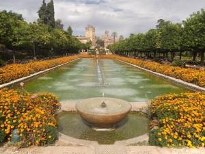 Jardín del Alcázar de Córdoba