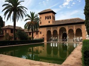 Postal: El Partal, Alhambra de Granada