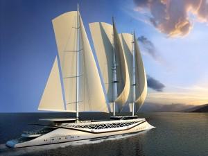 Un moderno velero