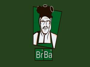 Postal: Dibujo de Walter de la serie Breaking Bad