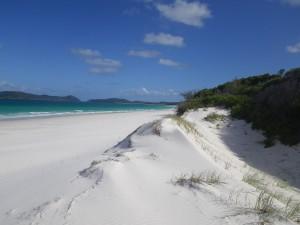 Sensacional playa de fina arena blanca