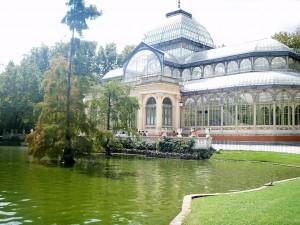 Postal: El Palacio de Cristal del Retiro (Madrid)