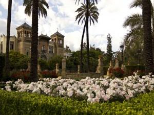 Postal: Parque de María Luisa (Sevilla)