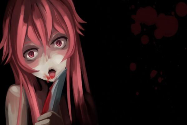 Yuno Gasai, personaje del anime Mirai Nikki