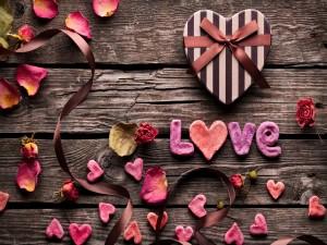 Postal: Un regalo con mucho amor