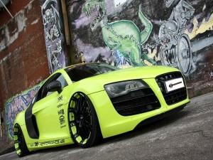 Postal: Audi R8 tuneado