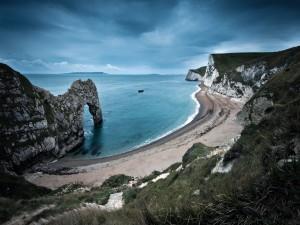 Postal: Una espectacular playa natural