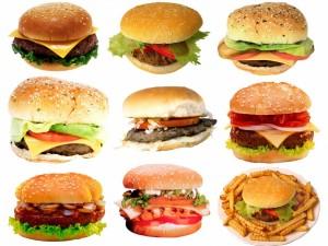Gran variedad de hamburguesas