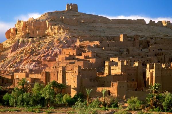 Ciudad fortificada de Ait Ben Hadu (Marruecos)