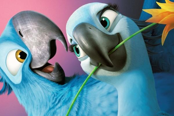 Blu y Perla en Rio 2