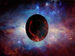 Postal: Sensacional planeta rojo