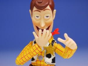 Muñeco de Woody, personaje de la película Toy Story