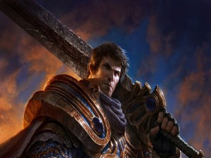 "Garen, personaje del videojuego ""League of Legends"""