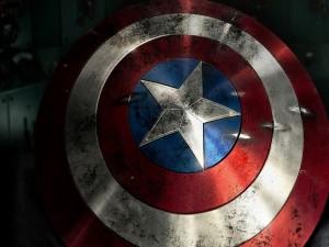 Postal: Escudo del Capitán América