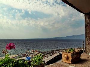 Postal: Preciosas vistas al mar