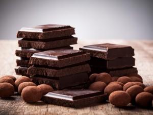 Postal: Onzas de chocolate y trufas
