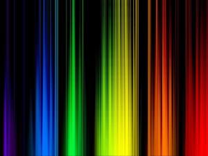 Postal: Franjas de color